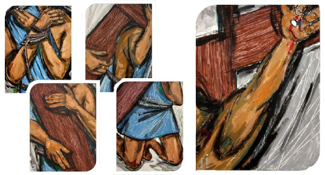 photo about Stations of the Cross for Youth Printable identified as Stations of the Cross for our Periods 2012 KandLe
