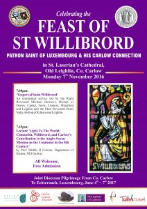 Feast of St Willibrord - Ecumenical Service @ St Laserians Cathedral | Oldleighlin | County Carlow | Ireland